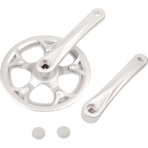 BTWIN Einfach-Kurbelsatz 42 Zähne 165 mm