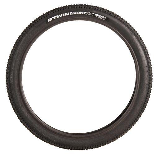BTWIN Fahrradreifen 16×1,60 Discover Skinwall / ETRTO40-305 schwarz