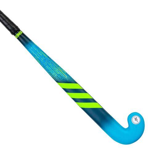 Adidas Feldhockeyschläger K17King Holz Kinder blau/grün BLAU/GRÜN