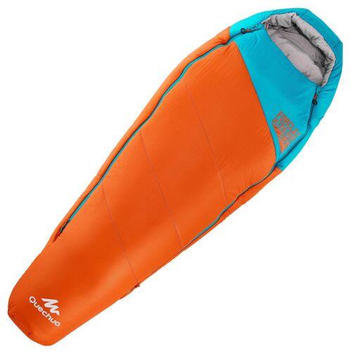 QUECHUA Schlafsack 0–5°C Forclaz Ultralight Kinder orange BLAU/GRAU/ORANGE/TÜRKIS