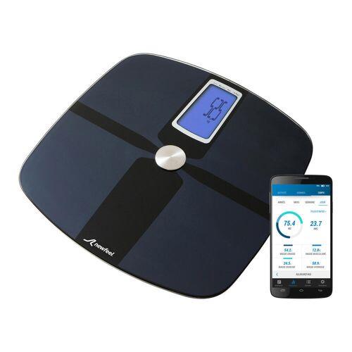 NEWFEEL Smarte Personenwaage Impedanzmeter Scale 700 SCHWARZ