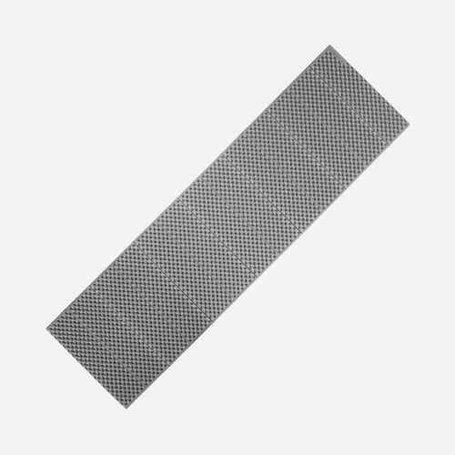 FORCLAZ Isomatte Trek 100 Schaumstoff faltbar 180 cm grau GRAU