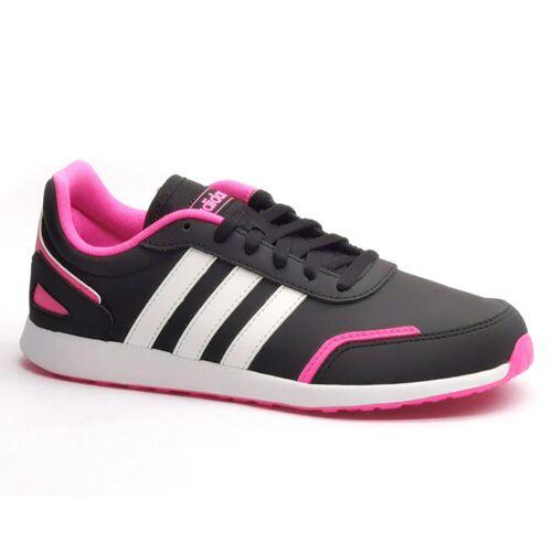 Adidas Sportschuhe Walking Adidas Switch mit Schnürsenkel Kinder schwarz/rosa