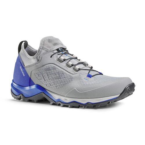 QUECHUA Wanderschuhe Speed Hiking FH500 Ultraleicht Herren grau/blau BLAU/GRAU