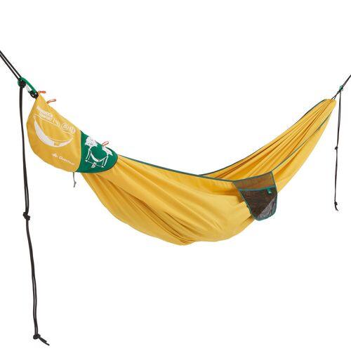 QUECHUA Hängematte Komfort 280×175cm für 2 Personen gelb