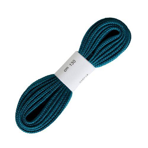 QUECHUA Flache Schnürsenkel für Wanderschuhe blau