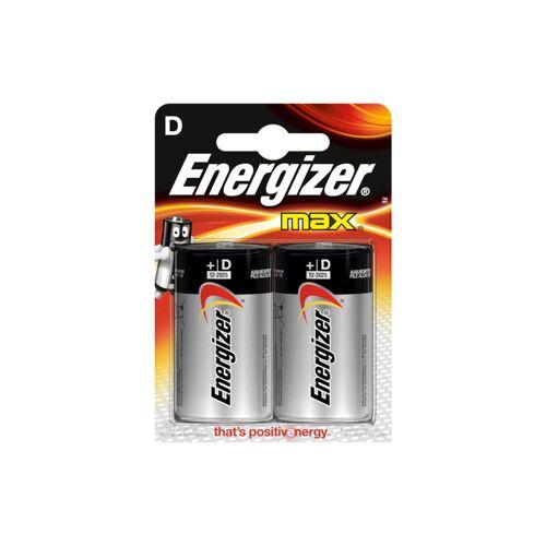 Energizer 2 Batterien LR20 MAX