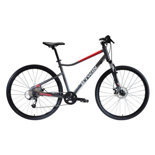 RIVERSIDE Cross Bike 28 Zoll Riverside 500 grau/rot