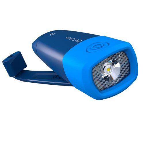 FORCLAZ Taschenlampe Dynamo 500 USB aufladbar 75 Lumen blau