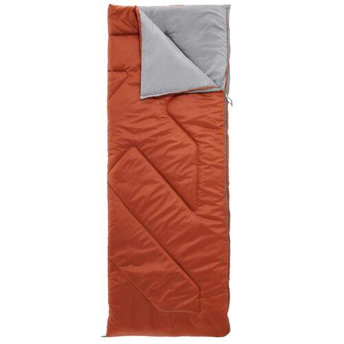 QUECHUA Schlafsack Camping Arpenaz 10°C braun BRAUN/GRAU