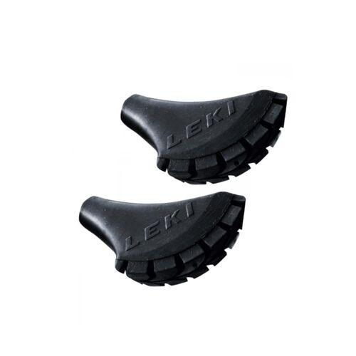 Leki 1 Paar Nordic-Walking Puffer Rubber Tip Füßchen für Walking Stöcke