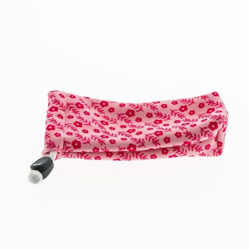 QUECHUA Stoffetui für Sonnenbrille Case 140 Babys und Kleinkinder rosa