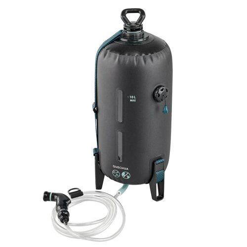 QUECHUA Solardusche mit Drucksystem Camping 10l