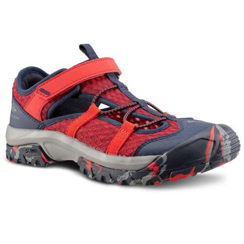 QUECHUA Sandalen Wandern MH150 Kinder Jungen Gr. 28–39 rot