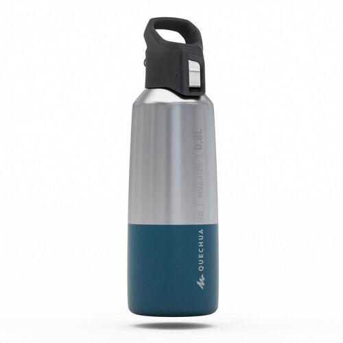 Quechua Isolierflasche MH500 0,8l Edelstahl
