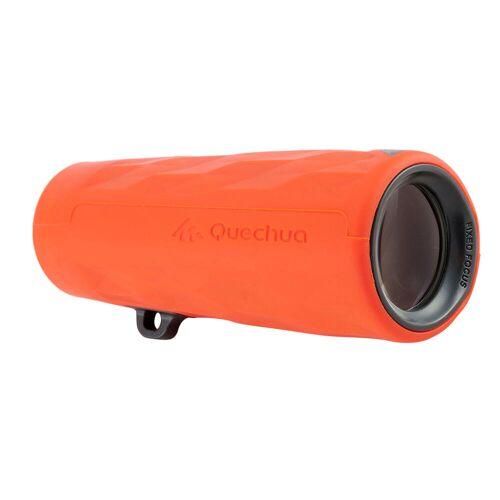 QUECHUA Fernglas voreingestellt MH M100 Wandern Vergrößerung 6-fach Kinder orange