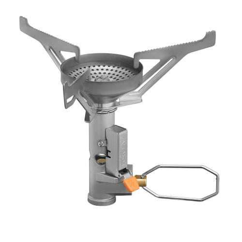 FORCLAZ Gaskocher Campingkocher Trek 500 Compact Piezo leicht