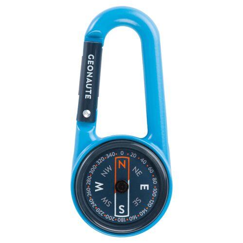 GEONAUTE Kompass Kompakt 50 Karabiner blau