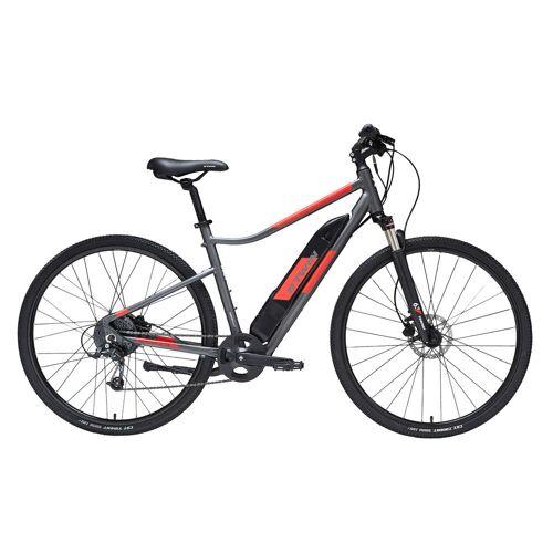 RIVERSIDE E-Bike Cross Bike 28 Zoll Riverside 500E grau/rot