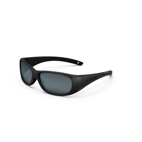 QUECHUA Sonnenbrille MH T100 Kinder 6–10 Jahre Kategorie 3 schwarz