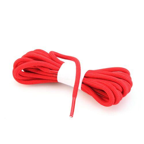 FORCLAZ Schnürsenkel für Wanderschuhe rund rot