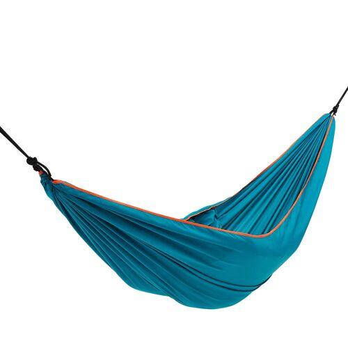 QUECHUA Hängematte Basic 1 Person 260 × 152cm blau