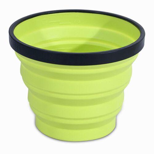 NIC IMPEX Campingbecher X-Cup faltbar 0,25 Liter grün