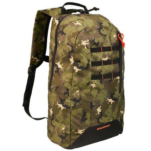 SOLOGNAC Jagd-Rucksack 20 l Camouflage grün