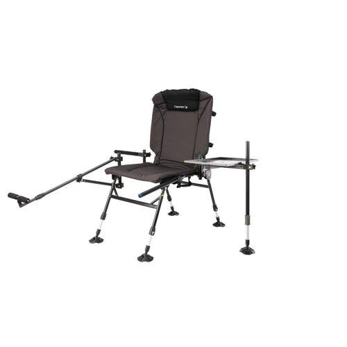 Caperlan CSB Feeder Adjust + Angel-Stuhl zusammenklappbar grau