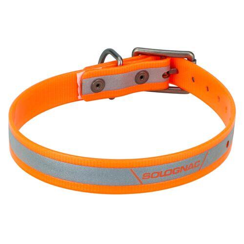 SOLOGNAC Hundehalsband 520 Reflektierend Orange