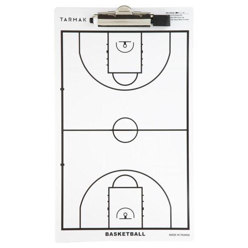 TARMAK Taktikboard mit Filzstift Trainer Basketball