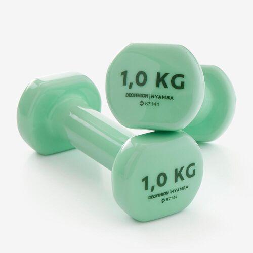 NYAMBA Hanteln Fitness 1kg grün GRÜN