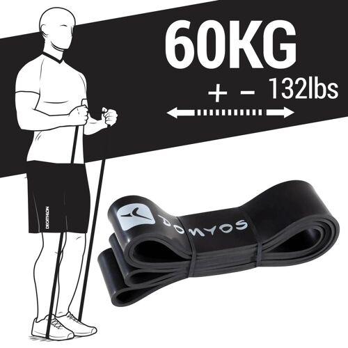DOMYOS Fitness Band, Trainingsband Cross Training 60kg