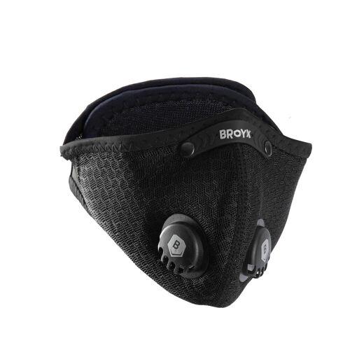 BROYX Filtrierende Halbmaske Broyx Sport 500 inkl. 2 FFP1-Filter