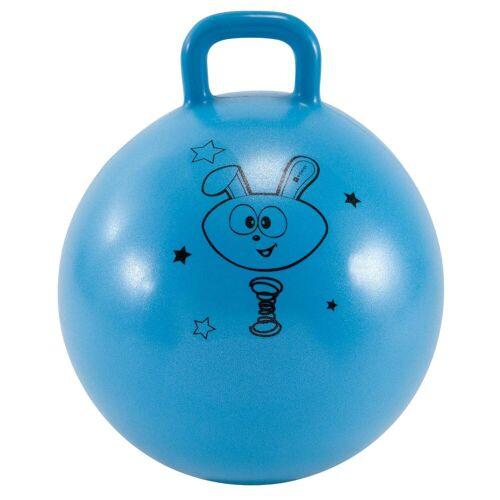 DOMYOS Hüpfball Resist 45cm Gym Kinder blau