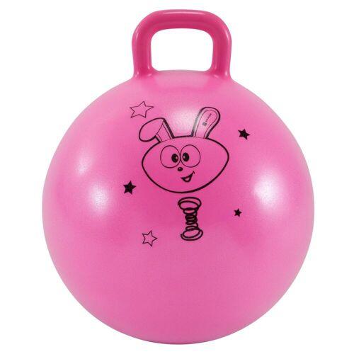 DOMYOS Hüpfball Resist 45cm Gym Kinder rosa