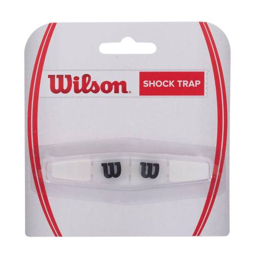 Wilson Vibrationsdämpfer Shock Trap Tennisschläger weiß