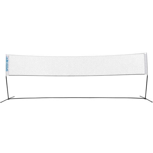 Perfly Badmintonnetz mit Pfosten Speednet500