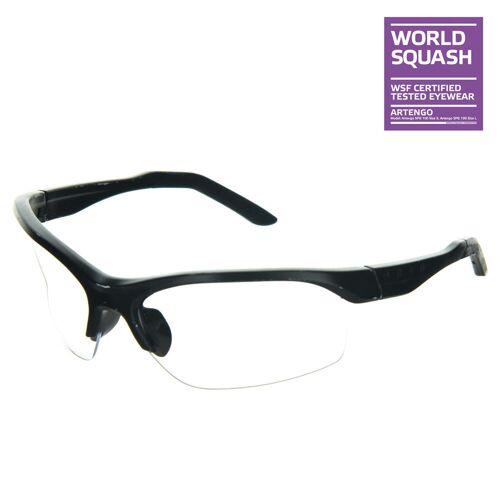 OPFEEL Squashbrille für schmales Gesicht SPG 100 Größe S