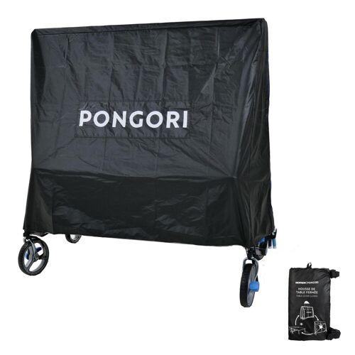 Pongori Schutzhülle Tischtennisplatte zugeklappt schwarz