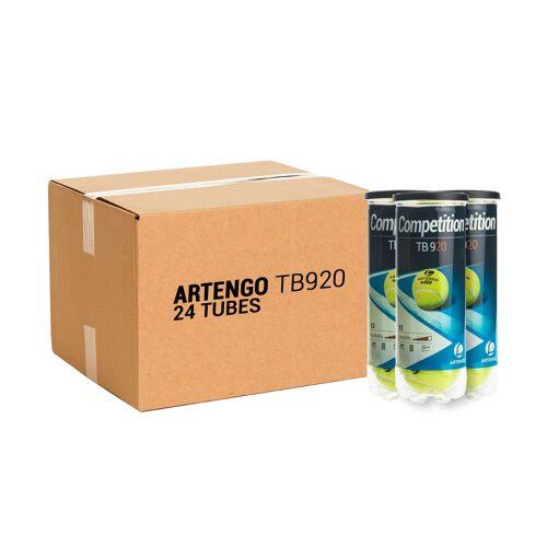 ARTENGO Tennisball TB920 24× 3er-Dosen gelb