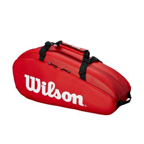 Wilson Tennistasche 6R rot/weiß