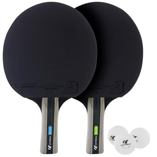 Cornilleau Tischtennis-Set mit 2 Tischtennisschlägern 3 Bällen