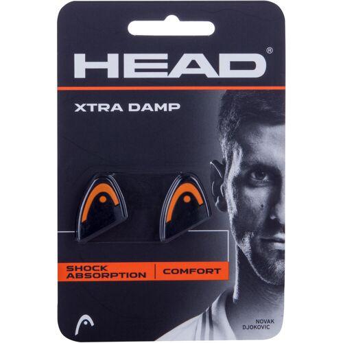 Head Vibrationsdämpfer Xtra Damp Tennisschläger schwarz/orange