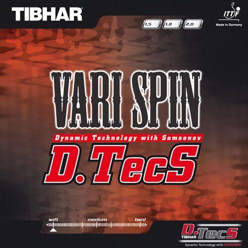 TIBHAR Tischtennisbelag Vari Spin D.TecS