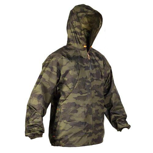 SOLOGNAC Jagdjacke / Regenjacke 100 camouflage KHAKI