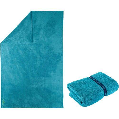 NABAIJI Mikrofaser-Badetuch ultra-weich Größe XL 110×175cm blau BLAU/TÜRKIS