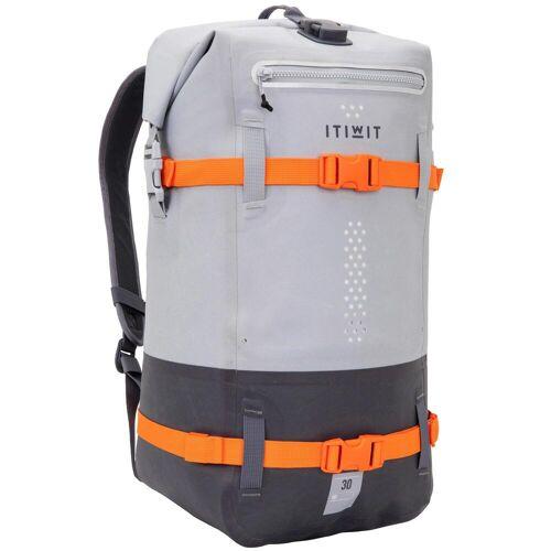 ITIWIT Wasserfester Rucksack 30L grau GRAU