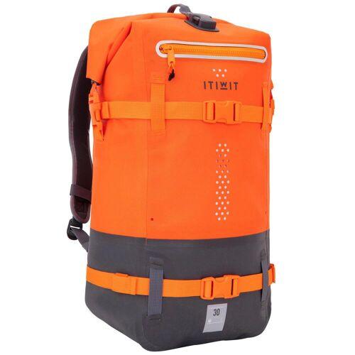 ITIWIT Wasserfester Rucksack 30l orange ORANGE