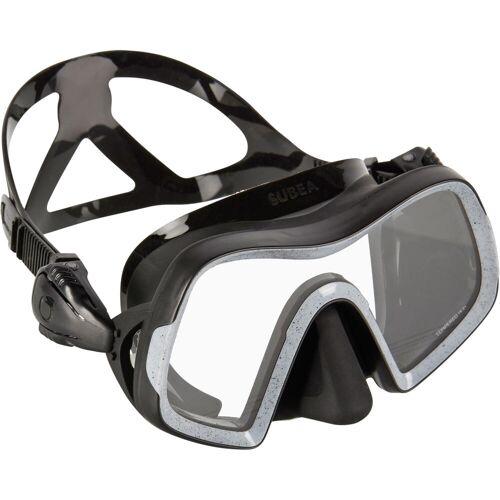SUBEA Tauchmaske SCD 500 Mono Einglas schwarz/grau BLAU/GRAU/SCHWARZ